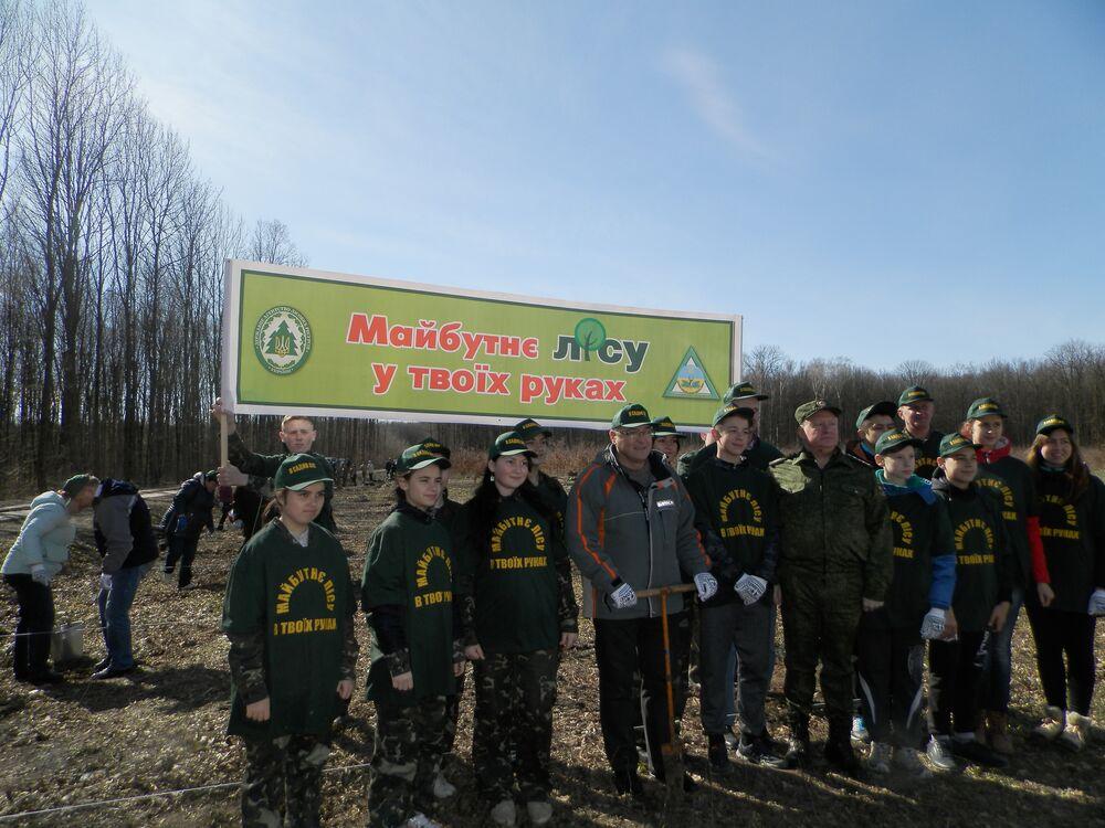 Цієї весни з'явиться 150 га нових лісів на Вінниччині