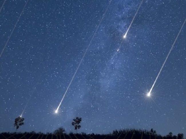 22 квітня — пік метеоритного дощу Ліриди