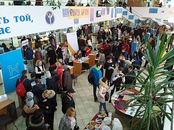 Ярмарок 500 вакансій відбудеться у Вінниці. Безробітних у 46 разів більше!
