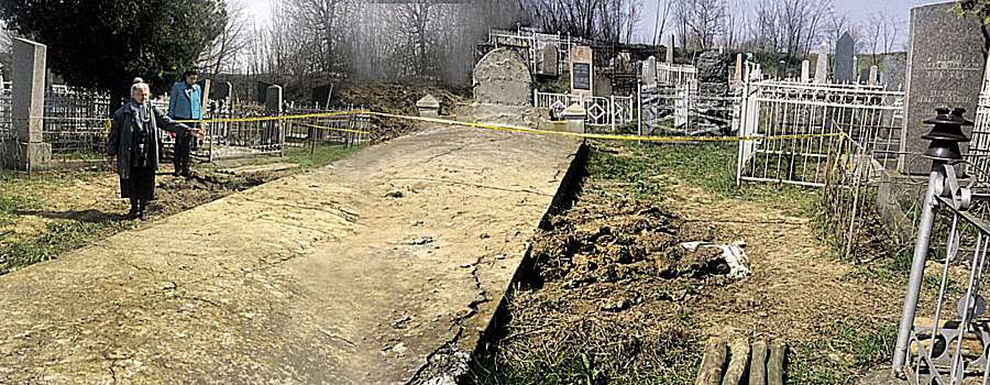 Кладовище розстріляних євреїв розкопали «чорні археологи»