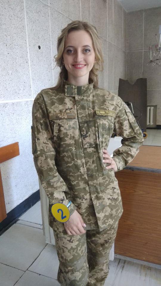 Юлія Гуцал – найкраща військова медсестра Вінниччини