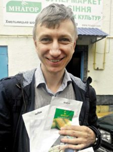 Cекрети солодкої кукурудзи розкрив Михайло Нагоряк