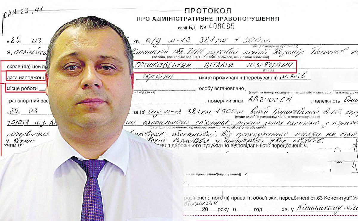 Суд виправдав відомого прокурора, якого зловили напідпитку поліцейські під Вінницею