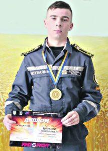 Вінницький майбутній рятувальник став найкращим бійцем з фрі-файту