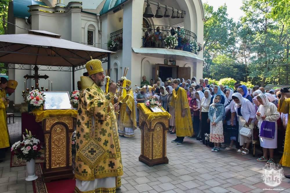 Вінничани відзначили престольне свято церкви на честь лікаря-чудотворця Луки Кримського – жертви сталінських репресій