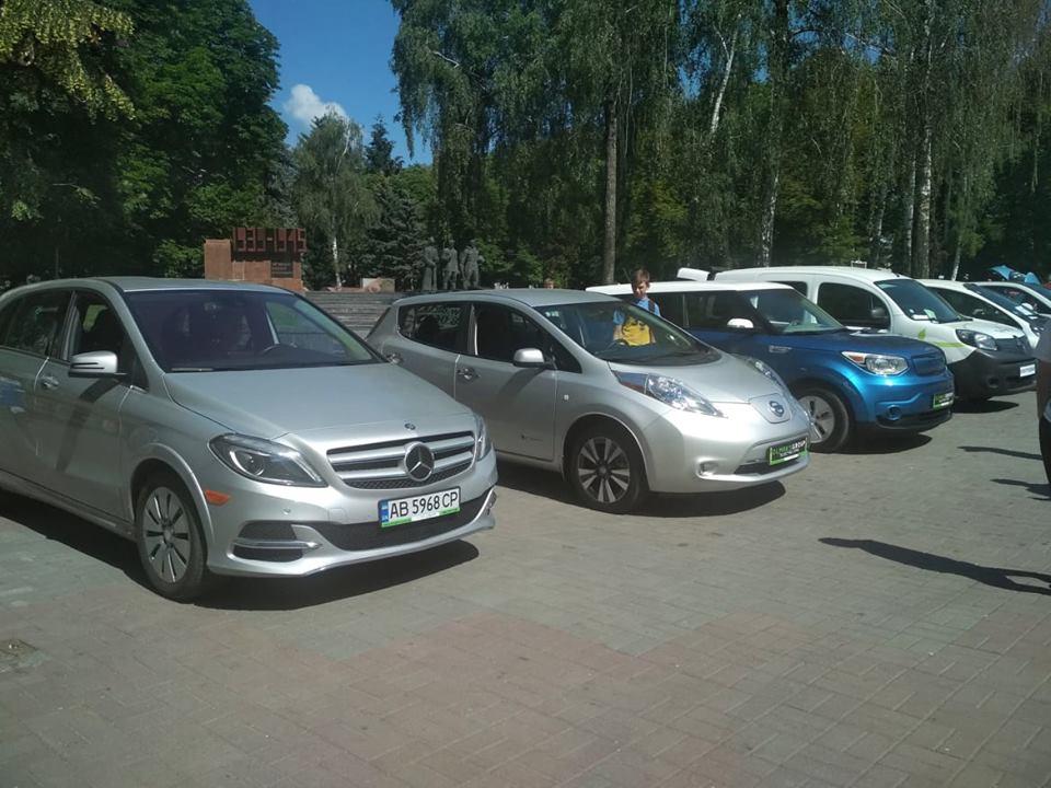 Чим вражали на виставці електрокарів у Вінниці?
