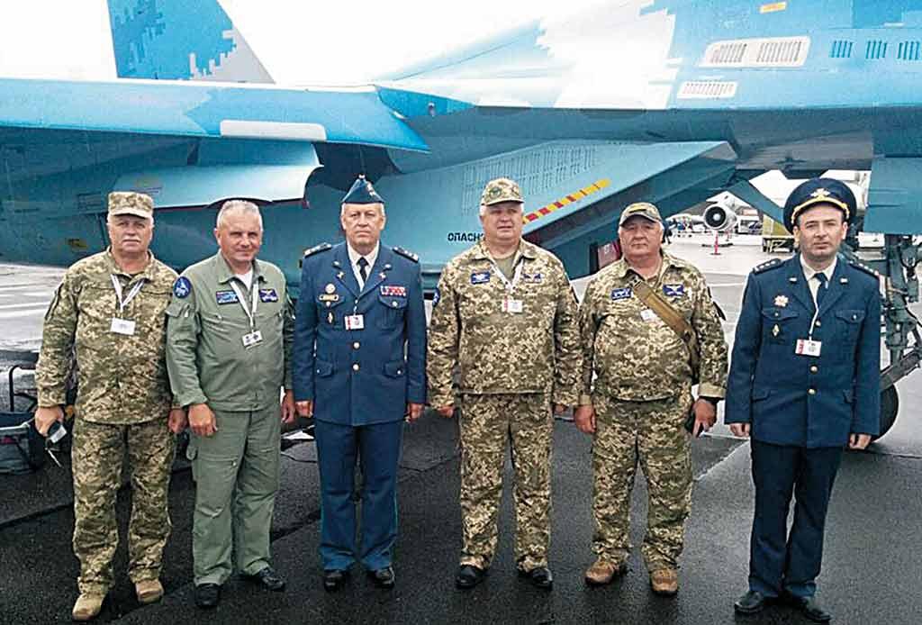 Вінницькі військові льотчики взяли участь у авіашоу в Данії