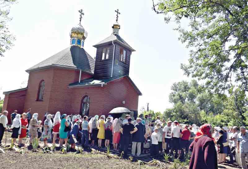 Церква відродить село – вважають будівничі храму в Олександрівці