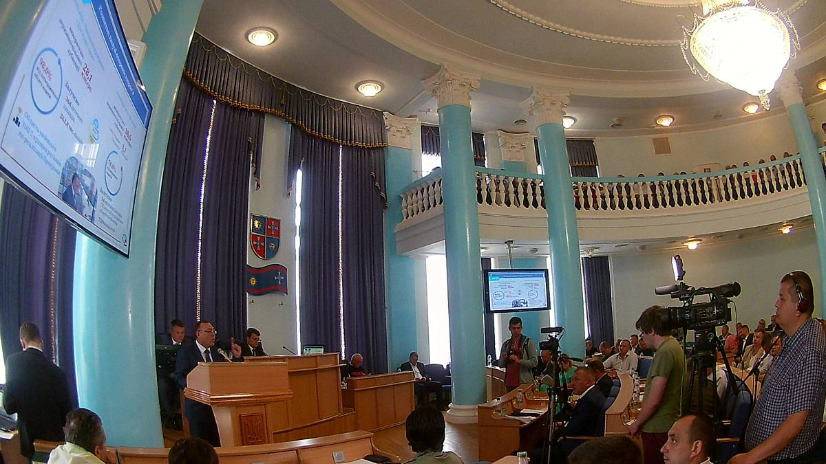 На сесії облради «Звіт найкращого губернатора», директорські бої за «Лікарню Тімірязєва» і «штурм Каноніка» через «Заслуги перед Вінниччиною»… (відео)