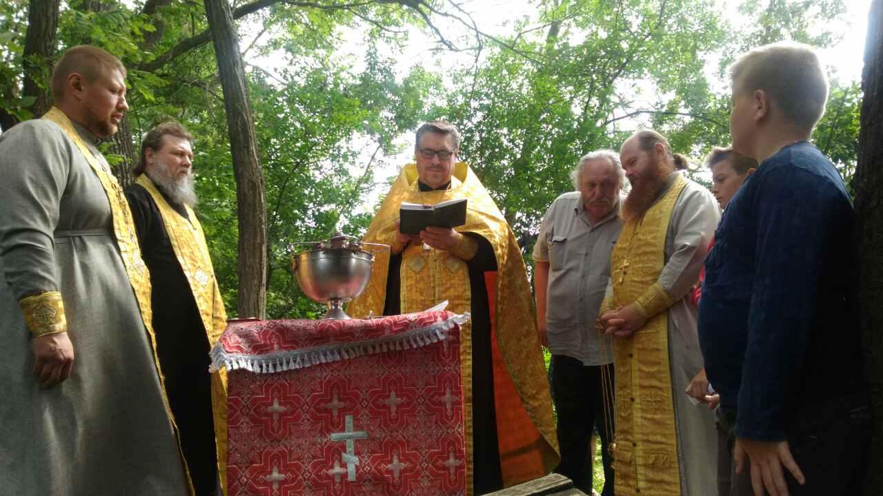 Водосвятний молебень послав дощ на Ворошилівку