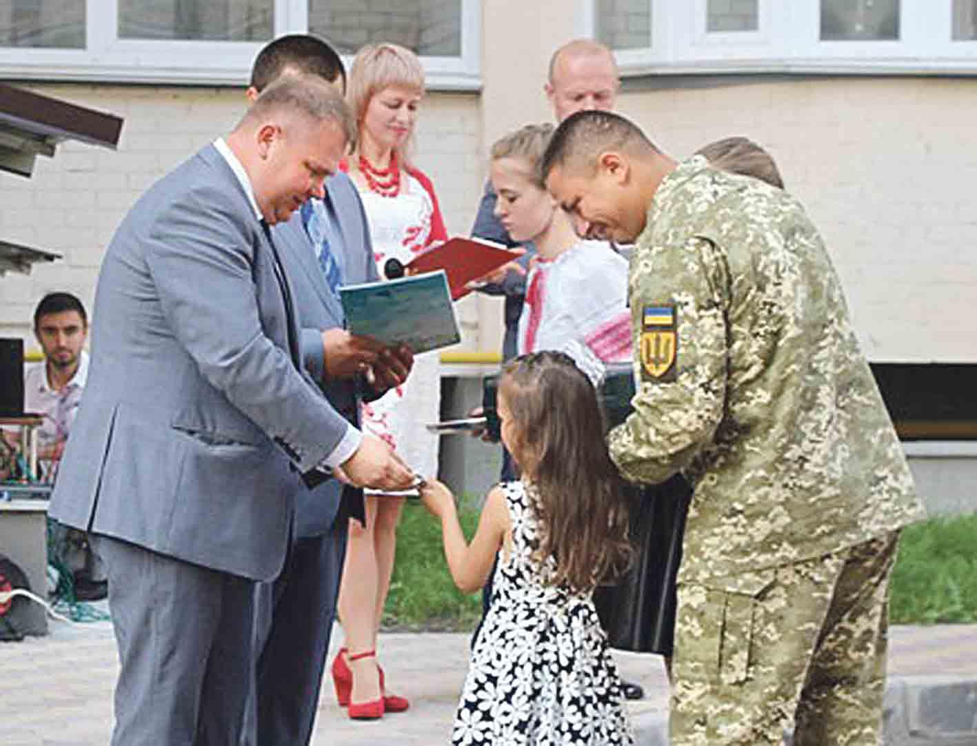 Шестеро сімей воїнів АТО стали новоселами