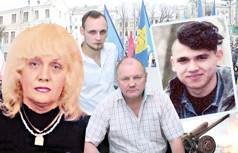 Мама досі в полоні терористів. Син Віталій Ковальчук – перший заручник – «правосек» чудом вижив і був обміняний. Героя Майдану Влада звинувачують у дезертирстві