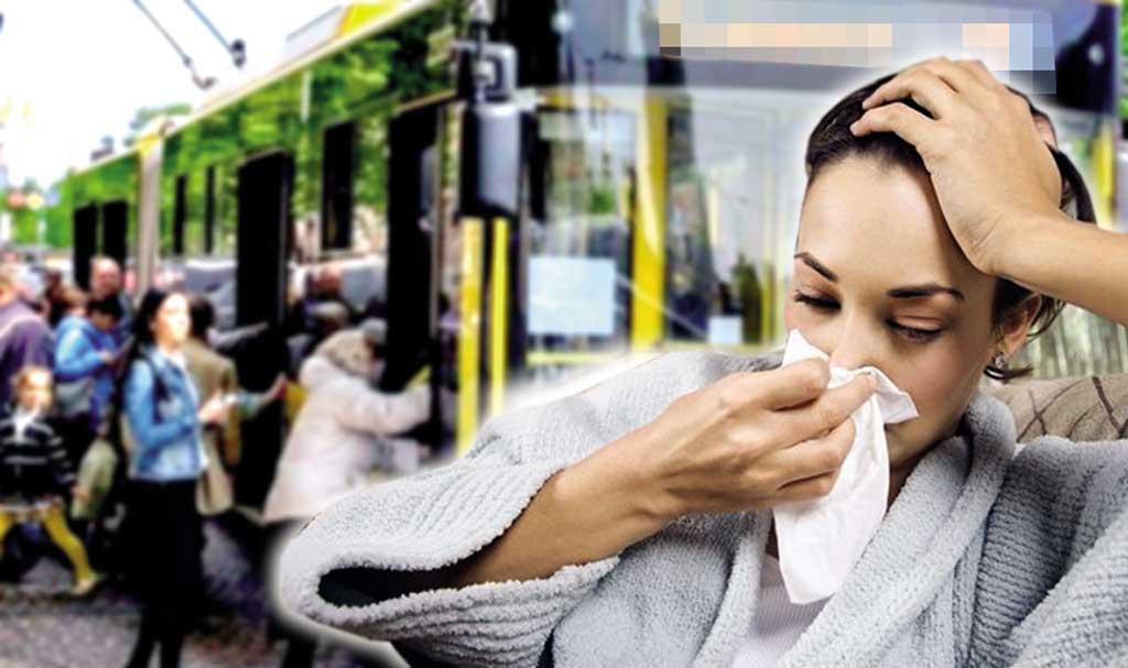 Тиф, гепатит, коросту і туберкульоз можна підхопити у громадському транспорті