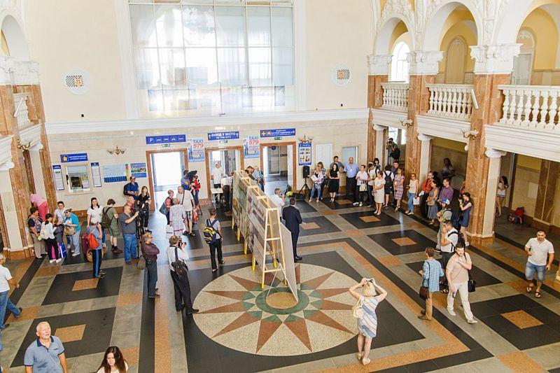 4 ідеї по проспекту Коцюбинського показали на залізничному вокзалі