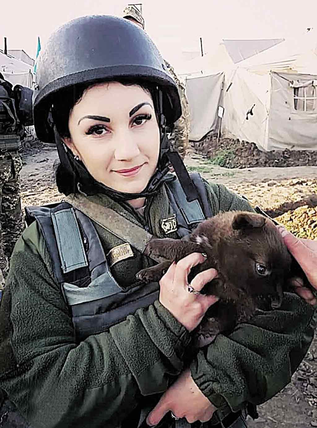 Боєць Наталія з Теплицького району поїхала вчитись на офіцера з окопів передової