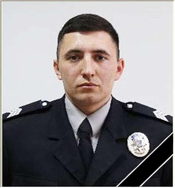 Особовий склад Національної поліції висловлює щирі співчуття родині загиблого поліцейського Олександра Гордійчука