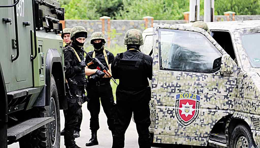 На Вінниччині вже є спецназ Національної поліції «КОРД», чим він займатиметься?