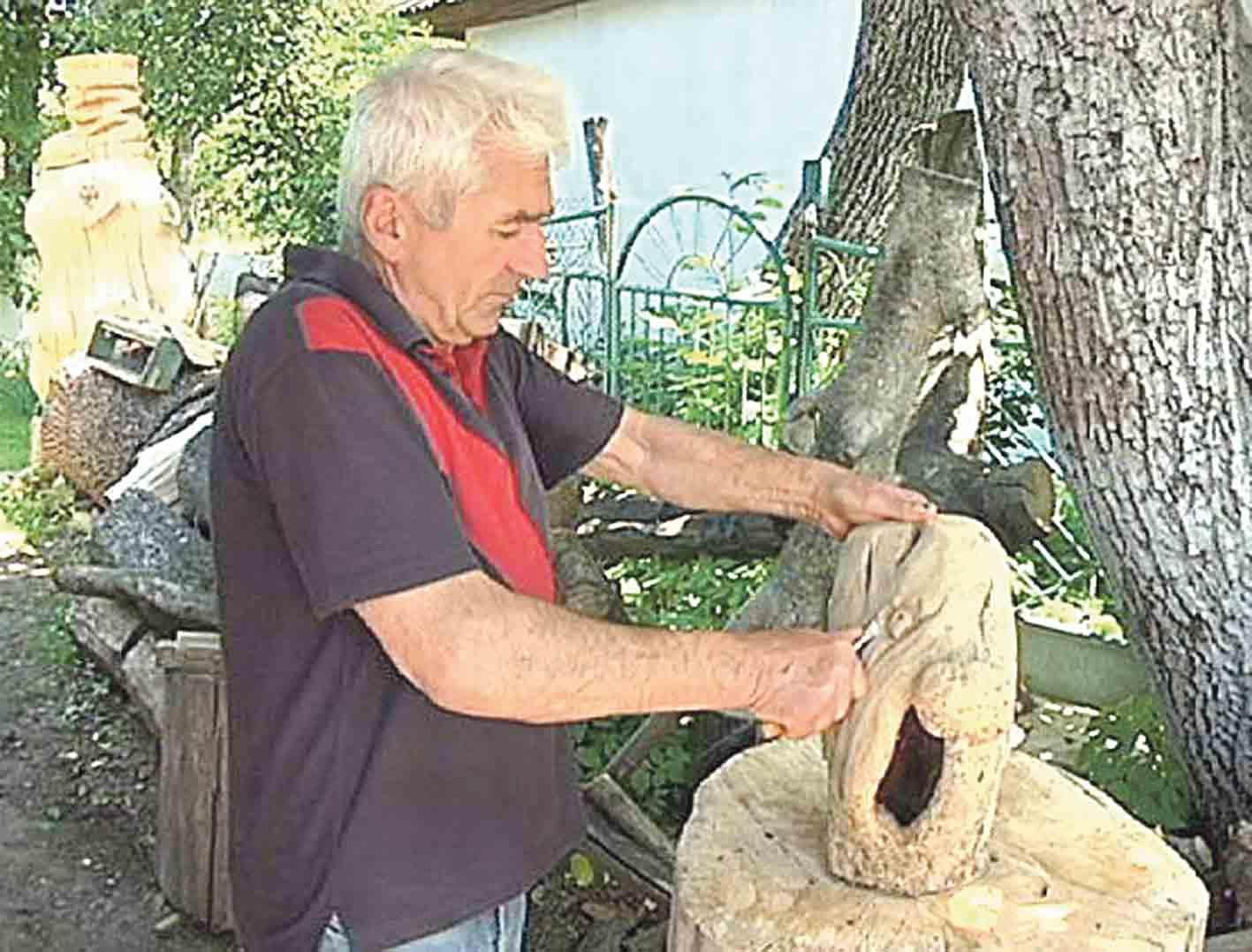 «Хлопчика-мізинчика» створив скульптор із Барського району