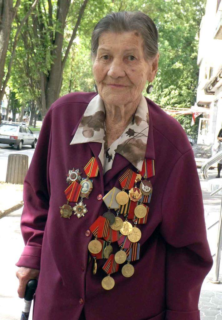 Вінничанка Луїза Сергеєва визволяла Вінницю від фашистів