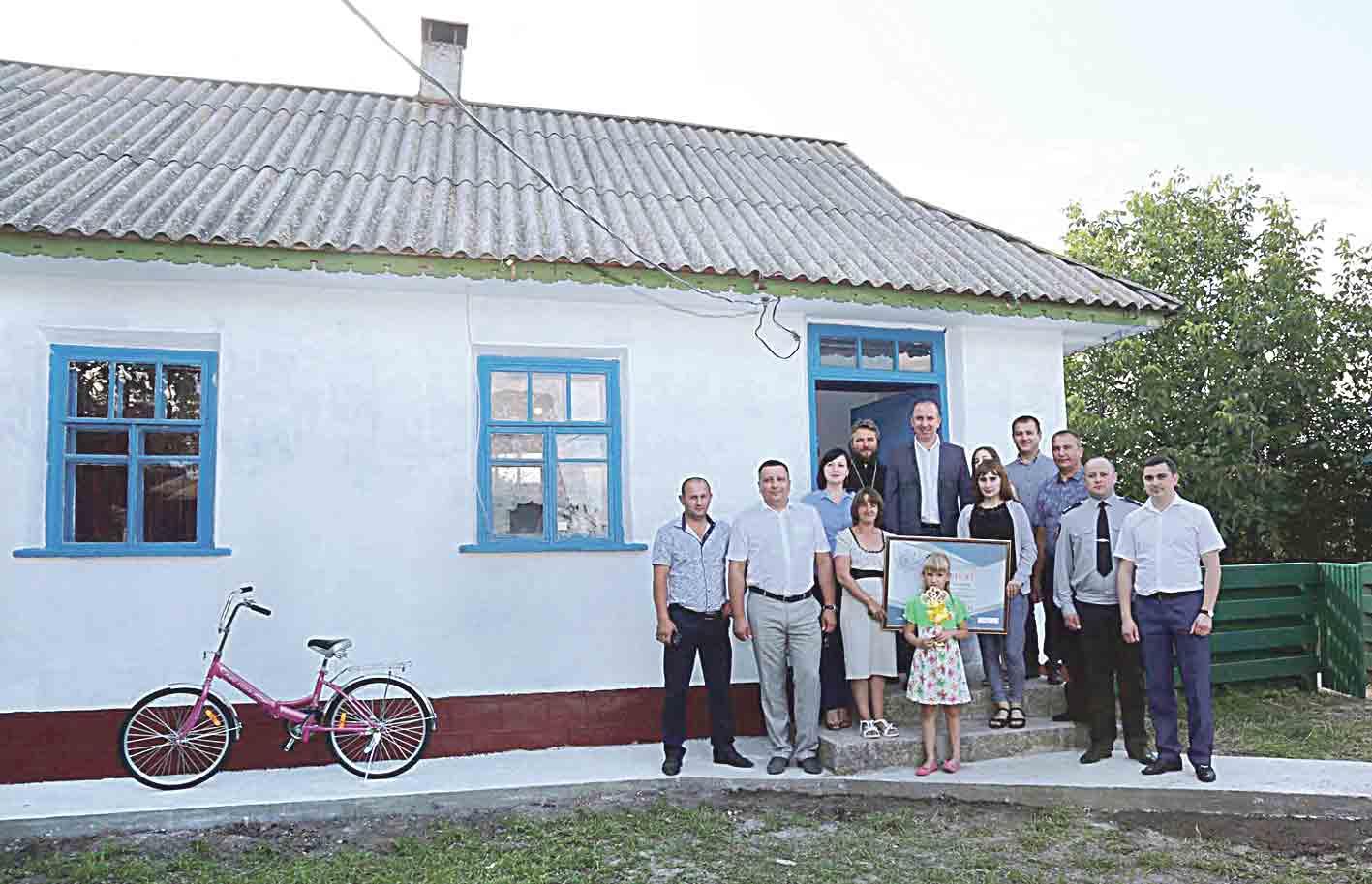Вінницькі поліцейські придбали дім для мами із дітьми