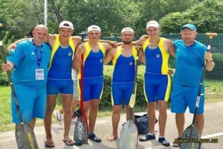 Вінничани у складі збірної України тріумфували на престижних змаганнях