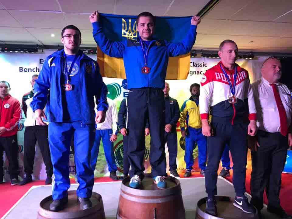 Чемпіон європи з Брацлава встановив рекорд у Франції
