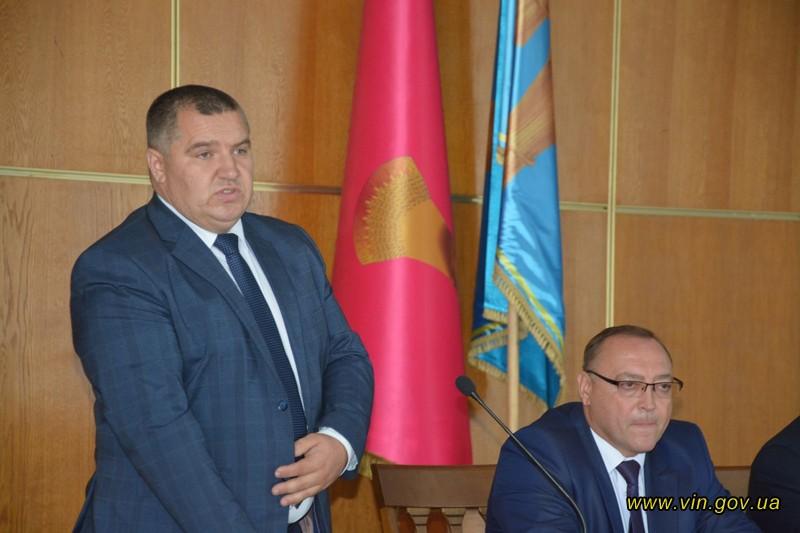 В Тульчинському районі новий голова РДА – Віталій Чуба