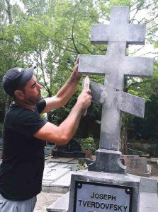 Врятували могилу героя УНР у Люксембурзі