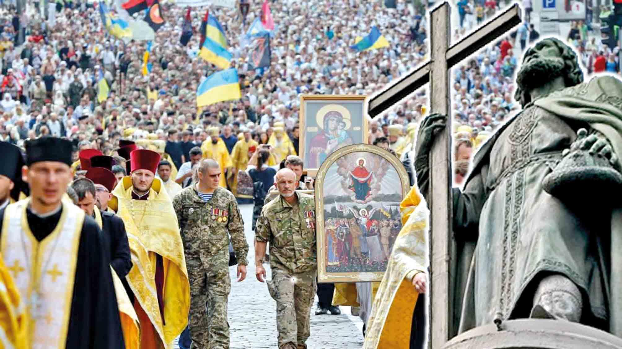 Вірші наших читачів: Хрестили Русь, но не Росію
