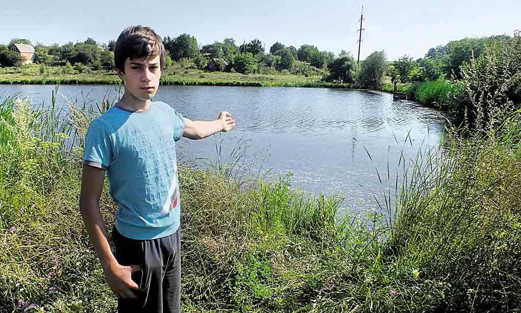 Рятуючи сусідського хлопчика, 15-річний Ваня не побоявся ризикнути власним життям
