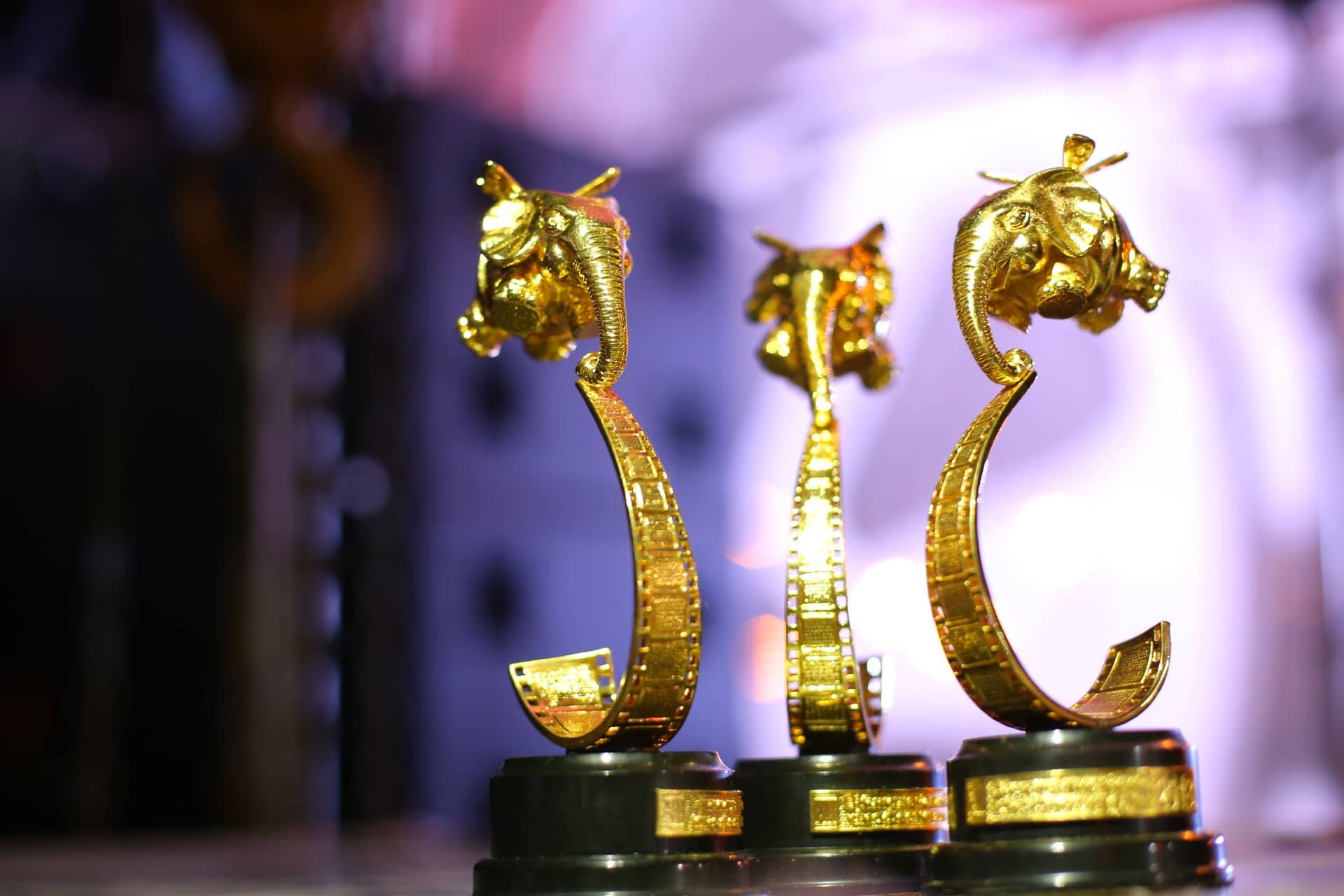 """Як Гройсман """"в кіно"""" познайомився із Катею Осадчою… Та кому дістались Летючі Слони XII ВІННИЦіЯнського фестивалю?"""