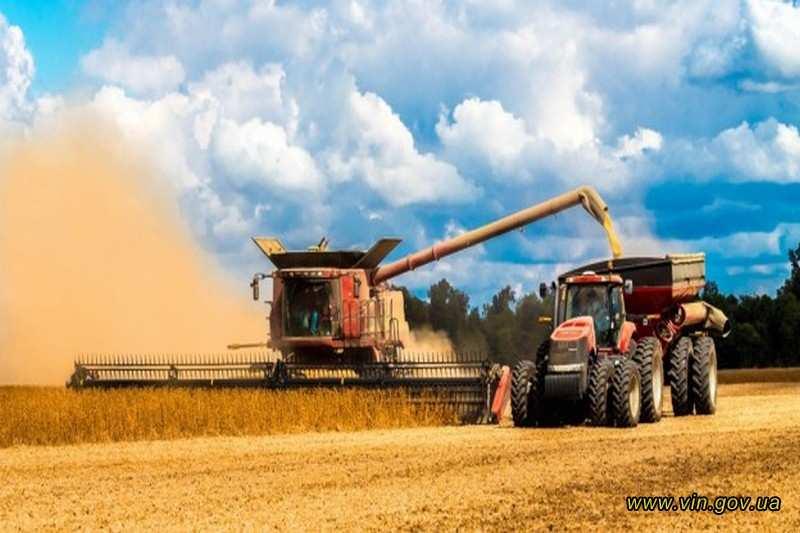Вінниччина зібрала 2,5 мільйони тонн зернових