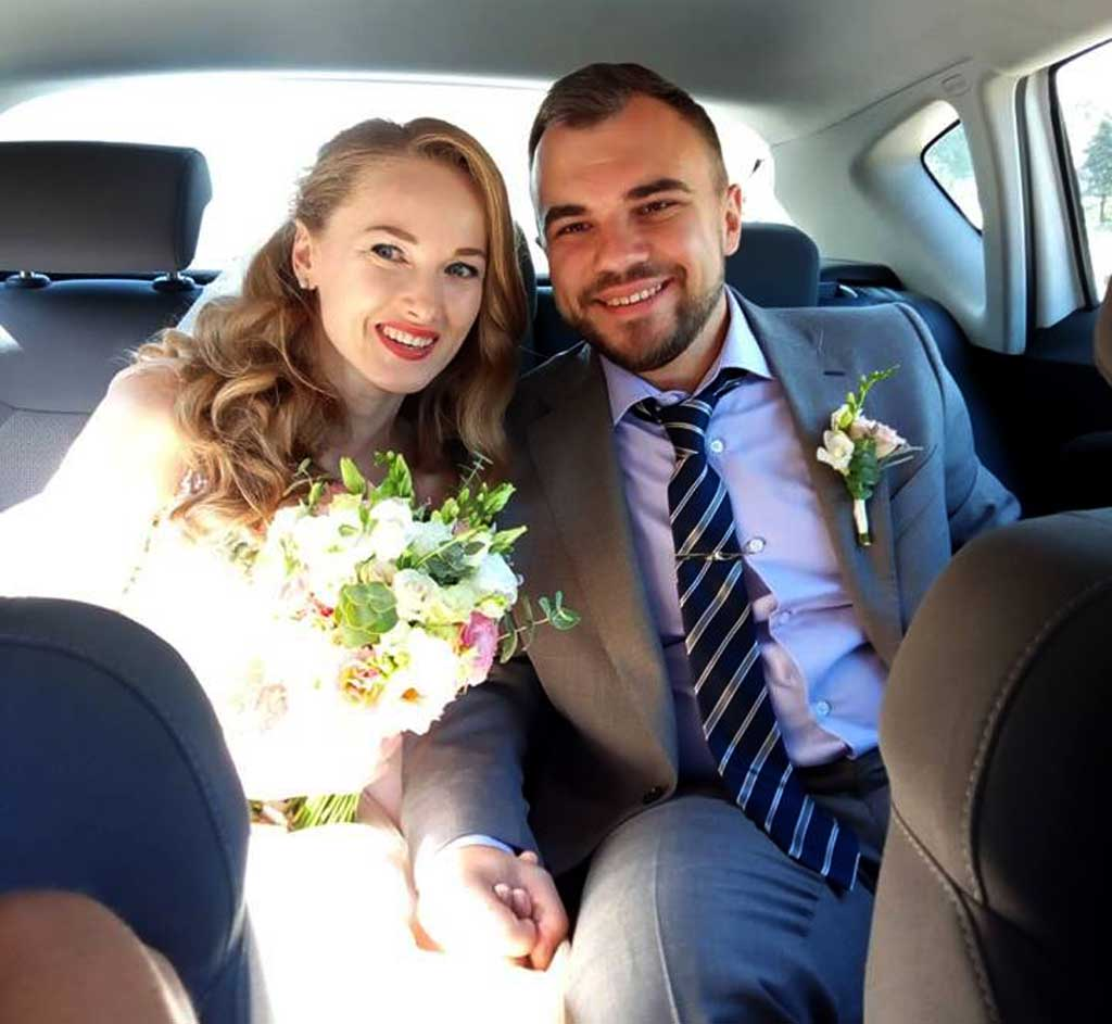 Після дивовижного порятунку в горах вінничанин одружився зі своєю дівчиною
