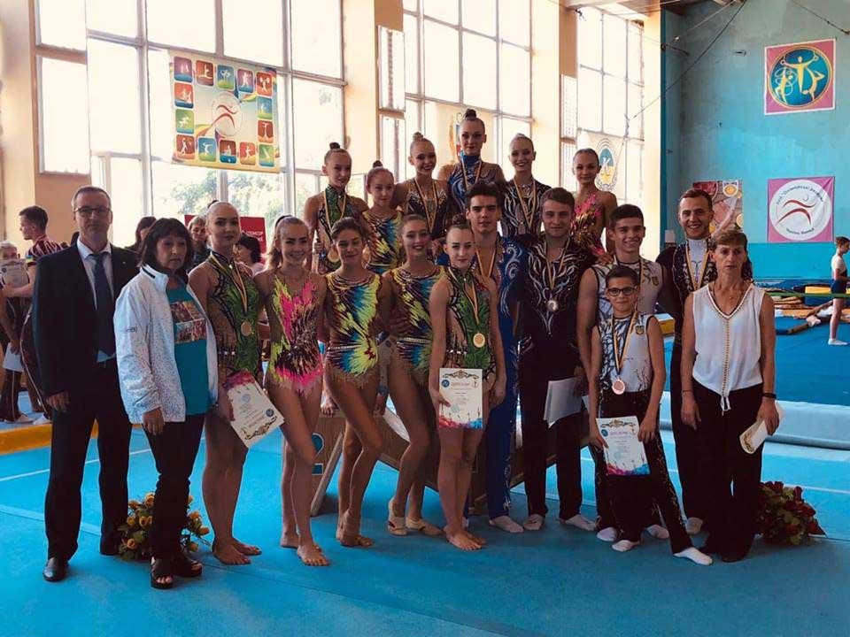 Вінницькі акробати — серед призерів Кубку України