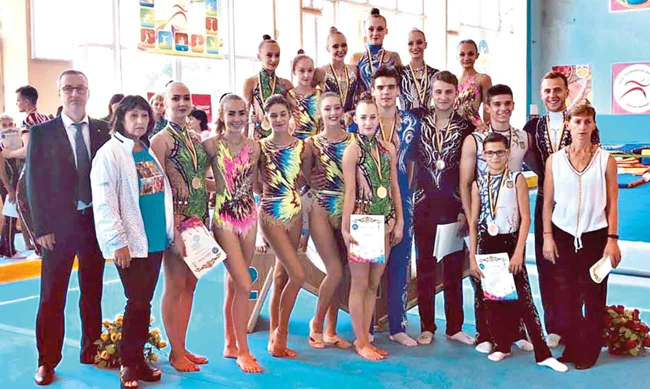 Наші акробати – серед призерів Кубка України
