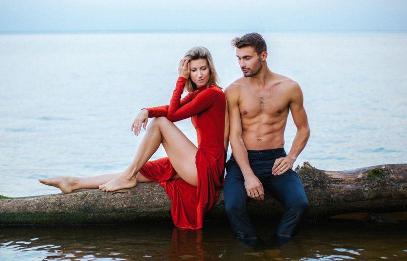 Хореограф зі Жмеринки знявся із партнеркою Анітою Луценко у романтичній фотосесії