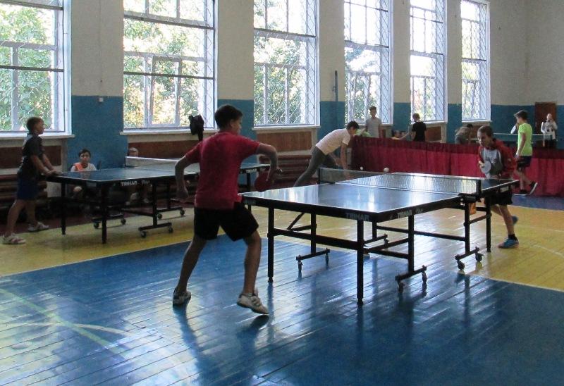 На Вінниччині визначили кращих тенісистів