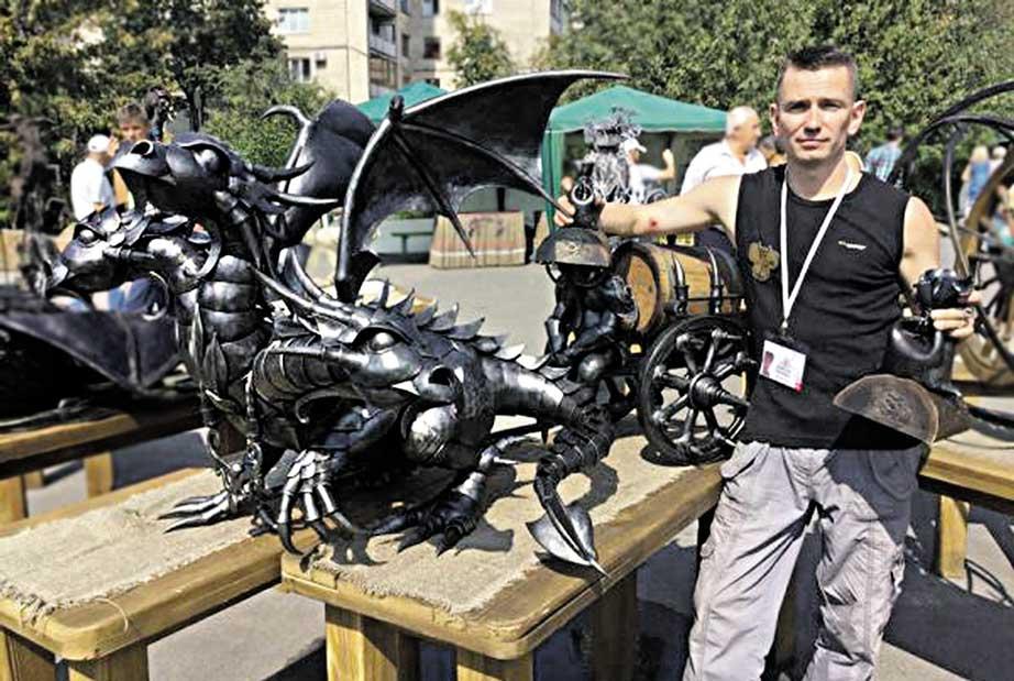 Вінницький коваль тріумфував на міжнародному фестивалі