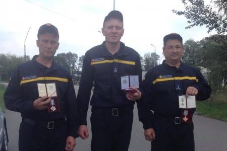 Нагородили вінницьких рятувальників
