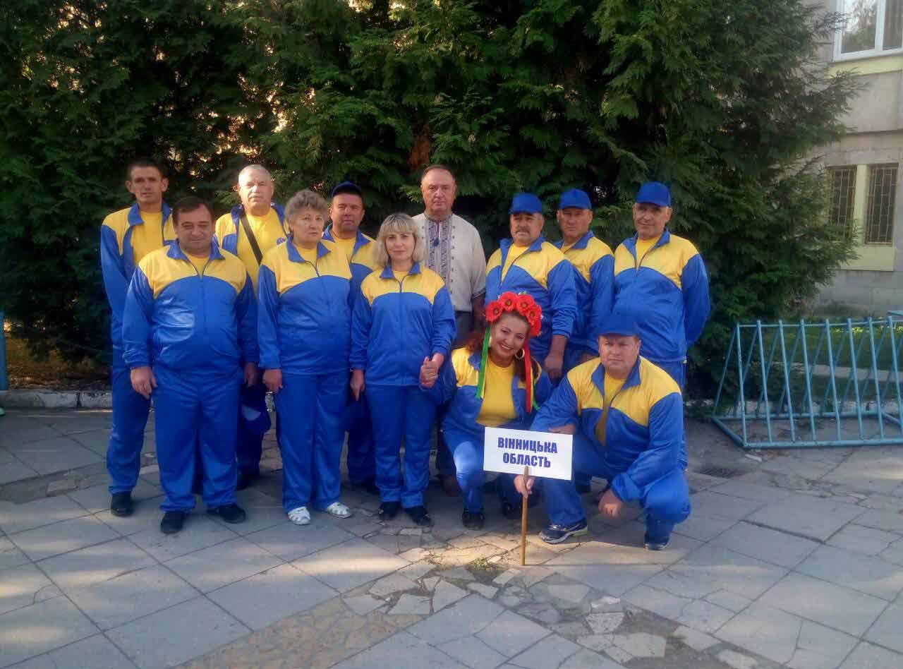 Вінничани відзначились у змаганнях Всеукраїнської спартакіади «Сила духу»