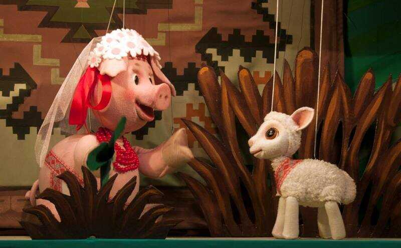 Репертуар театру ляльок на листопад
