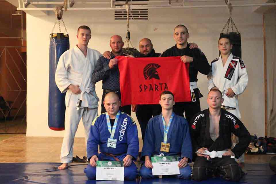 «Sparta BJJ» тріумфувала на міжнародному турнірі