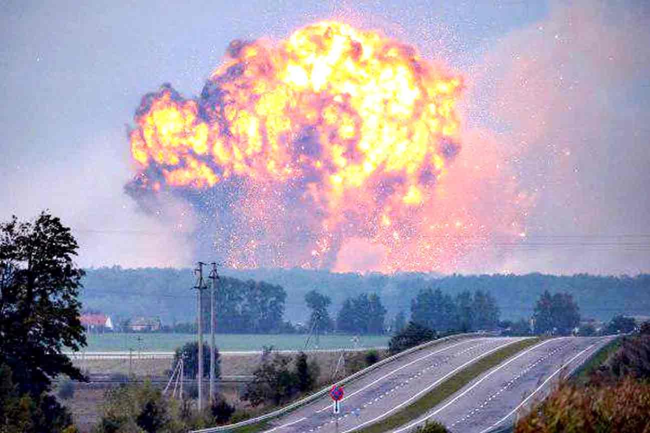Рік тому сталась Калинівська трагедія. У день народження Порошенка злетів у повітря найбільший арсенал зброї в Україні площею 600 га