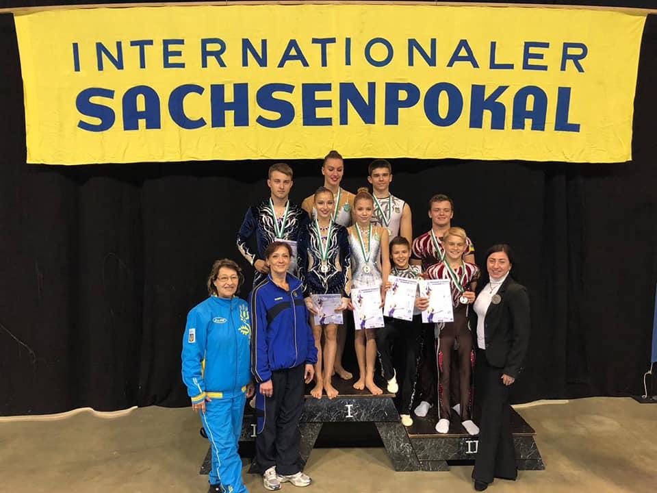 Вінницькі акробати взяли 2 золота «Sachsenpokal – 2018» в німецькій Різі