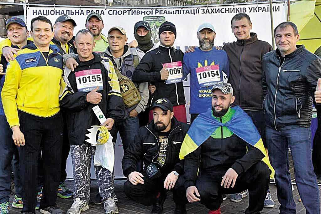 Бійці Вінниччини пробігли 10 кілометрів заради побратимів