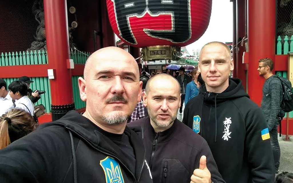 «Слава Україні» в Токіо звучала на честь вінничанина
