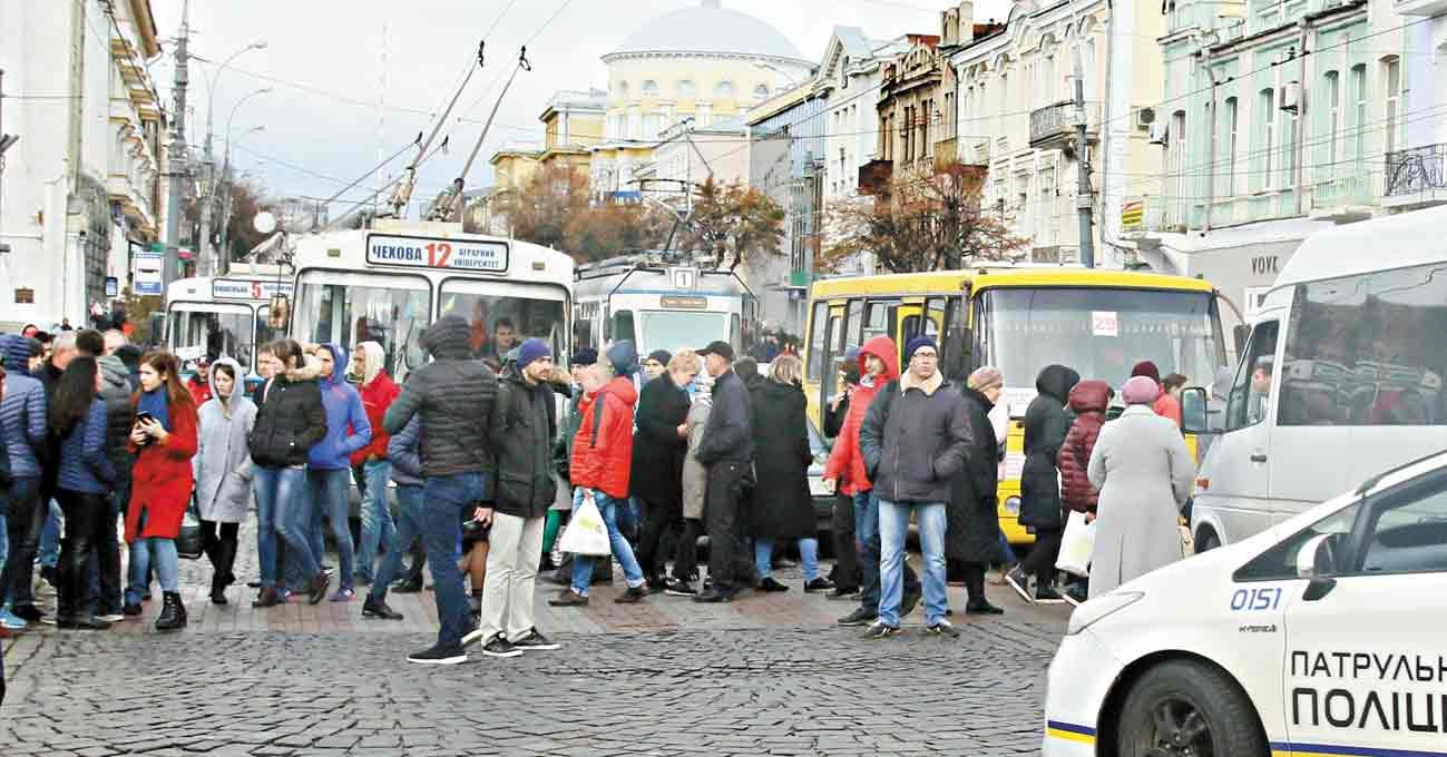 Чотири мітинги під мерією Вінниці висловили недовіру міському голові