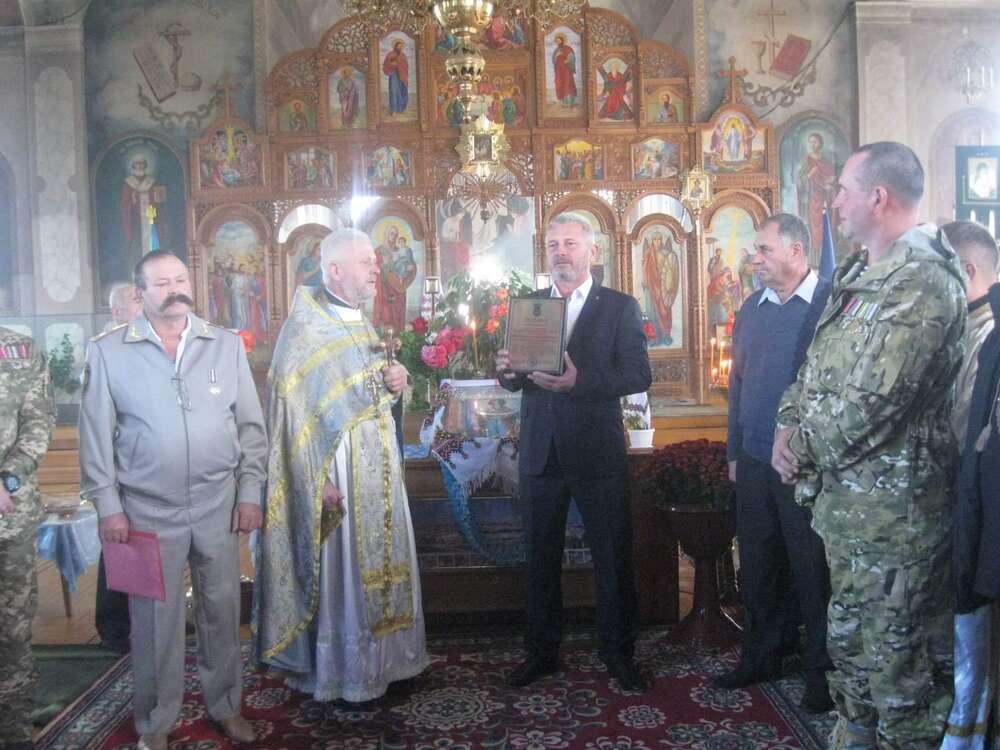 Рахни-Лісові святкували Покрову разом з ветеранами АТО (відео)