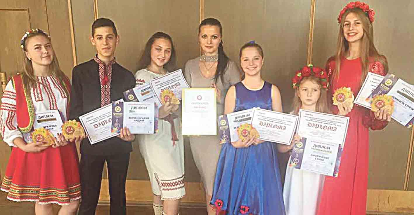 Головний приз та дипломи здобули вінницькі вокалісти на міжнародному фестивалі