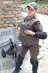 Гвардієць Карина змагалась за «берет з відзнакою»